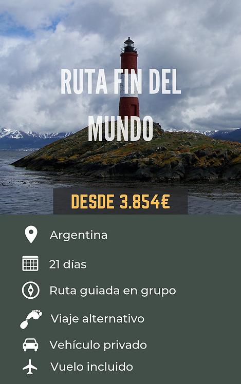 RUTA FIN DEL MUNDO - ARGENTINA