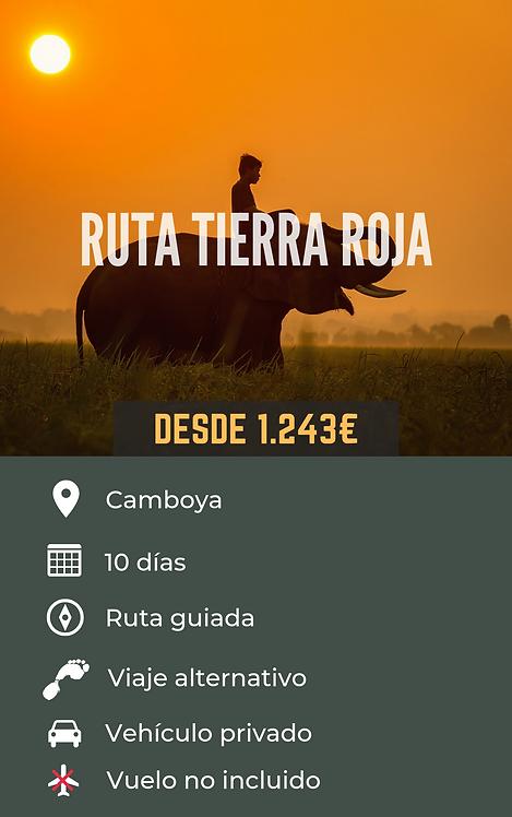 RUTA TIERRA ROJA - CAMBOYA