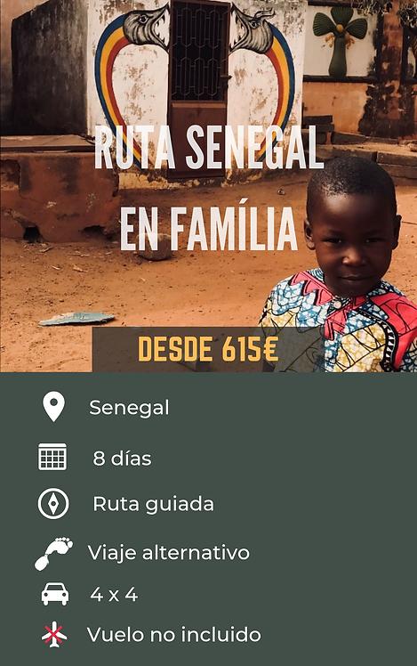 RUTA SENEGAL EN FAMÍLIA - SENEGAL