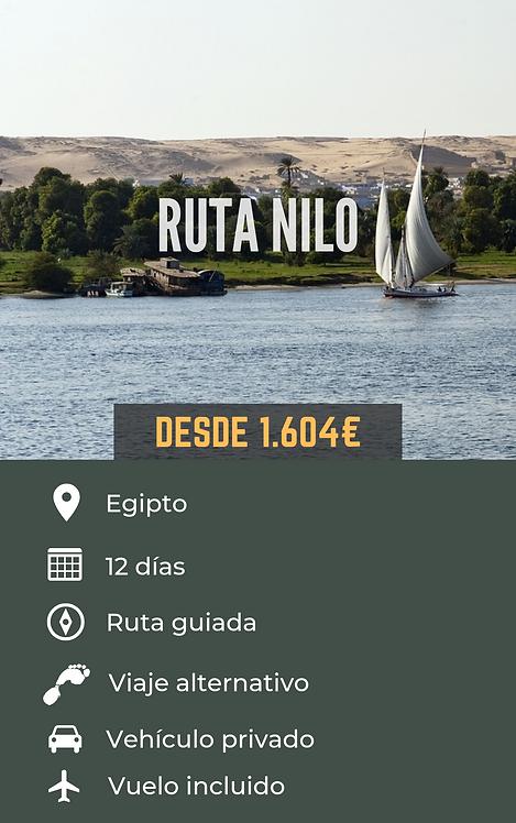 RUTA NILO - EGIPTO