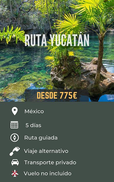 RUTA YUCATÁN - MÉXICO