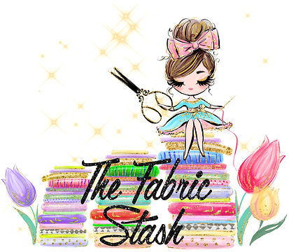 The Fabric Stash Logo