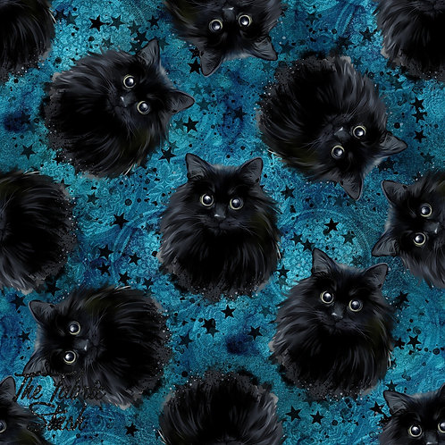 Black Cat - Cotton Lycra 220gsm