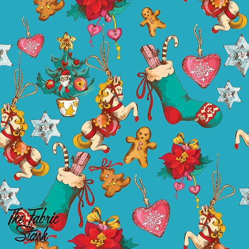Retro Tree Ornaments