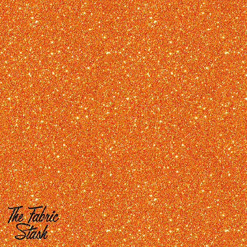 Glitter Orange - Cotton Twill (woven)
