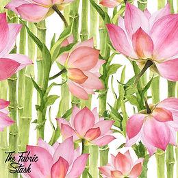 Bamboo Flower - Boardshort (peachskin)