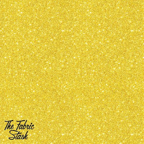 Glitter Gold - Cotton Twill (woven)