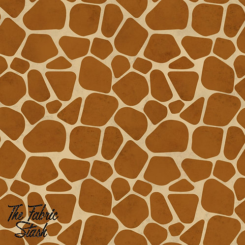 Giraffe - Double Brushed Poly 40cm