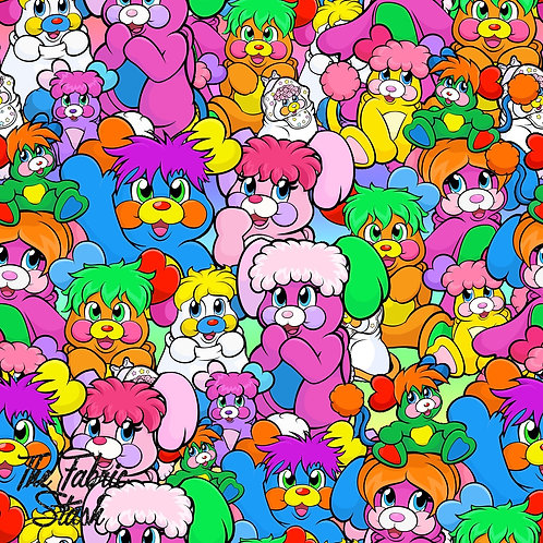 Popples - Firm Synthetic Leather