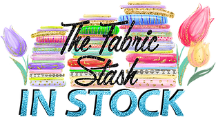 The Fabric Stash Logo wthout girl Clear