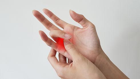 Trigger finger disease (locking finger o