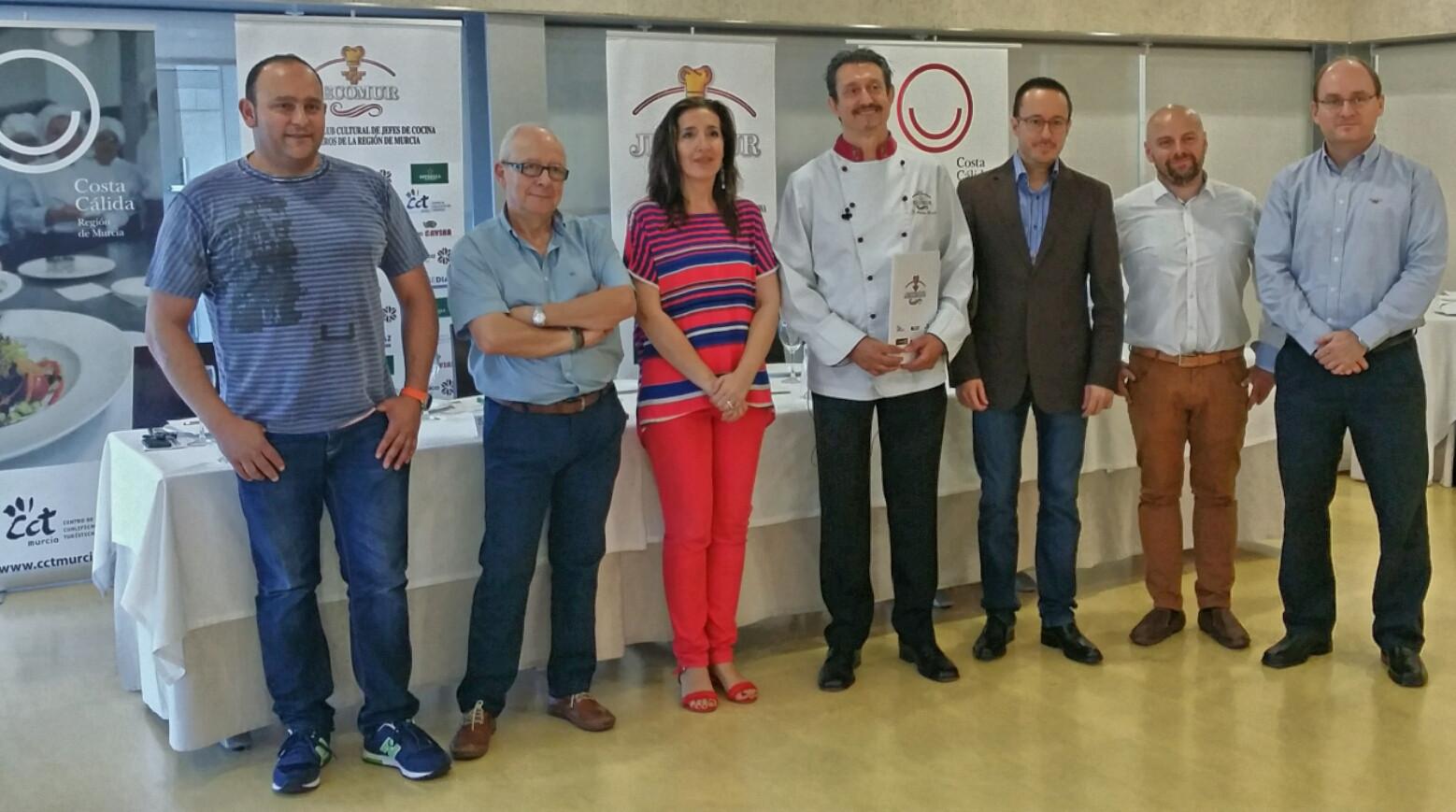 Concurso regional de Jóvenes Cocineros.