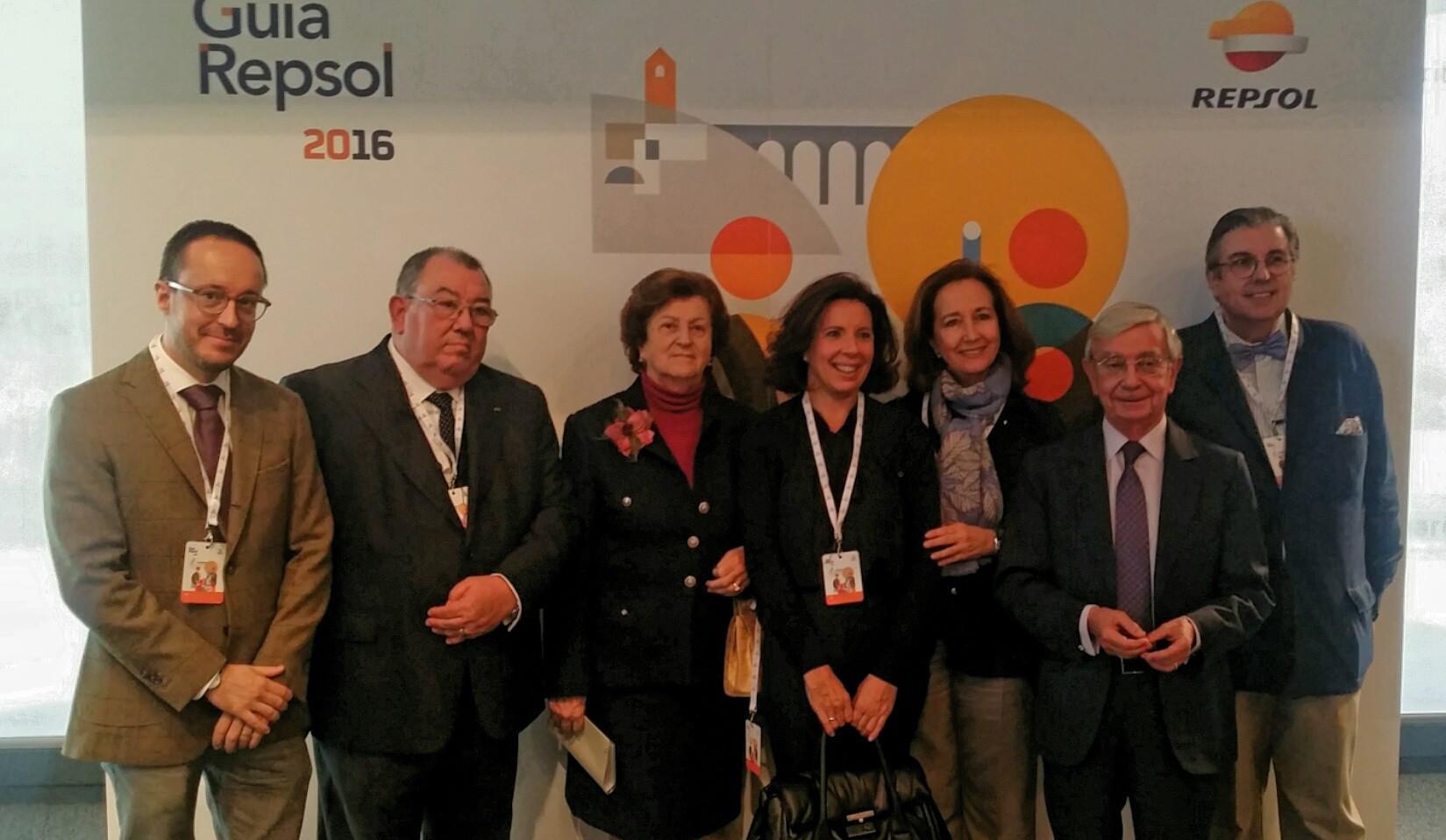 Gala anual de presentación de la Guía Repsol.
