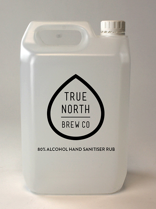 5 LITRE 80% ALCOHOL HAND SANITISER RUB