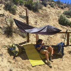 Searching for Shade in a 40-mile Dry Stretch