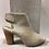 Thumbnail: Sandale en cuir taupe Felmi