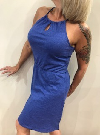 Robe sport bleu Edc