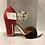Thumbnail: Sandale noire, rouge et blanche Only