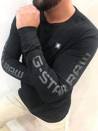 Chandail noir manches longues G-Star