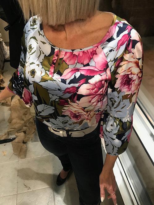 Blousette fleurie Comma