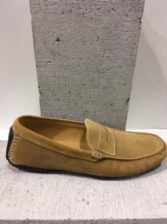 Chaussure beige en suède INTERLAND