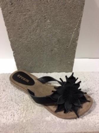 Gougoune noire avec fleur CREAM