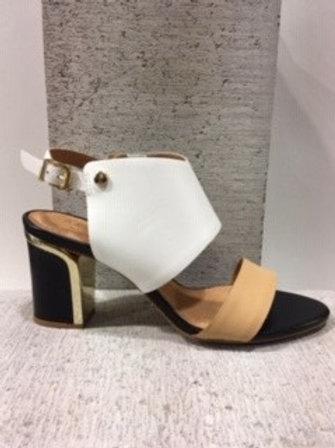 Sandale à lanière blanche Ateliers