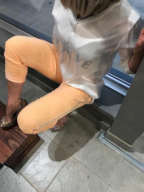 Pantalon orangé Karma