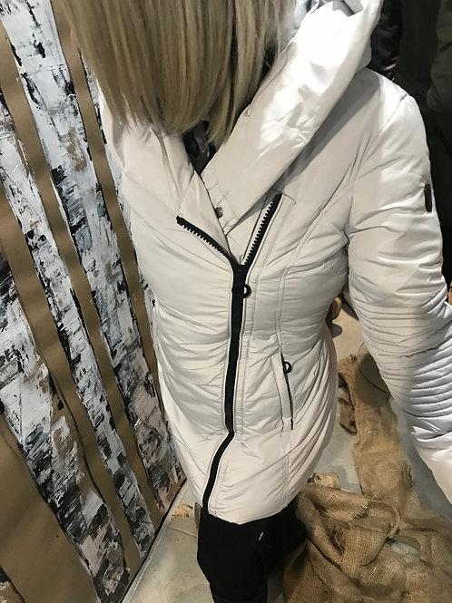 Manteau blanc matelassé Noize