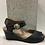 Thumbnail: Sandale en cuir noir Taos