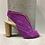 Thumbnail: Sandale Espagne Mauve rayée