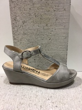 Sandale argentée Madison
