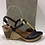 Thumbnail: Sandale noire et dorée LA PINTA
