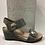 Thumbnail: Sandale en cuir gris Taos