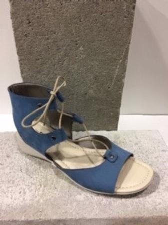 Sandale bleue gladiateur FLEXX