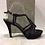 Thumbnail: Sandales noires brillantes  NOBLEZ