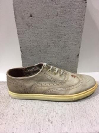 Chaussure taupe en cuir NOBRAND