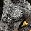 Thumbnail: Chemise noire manches longues avec motifs AU NOIR