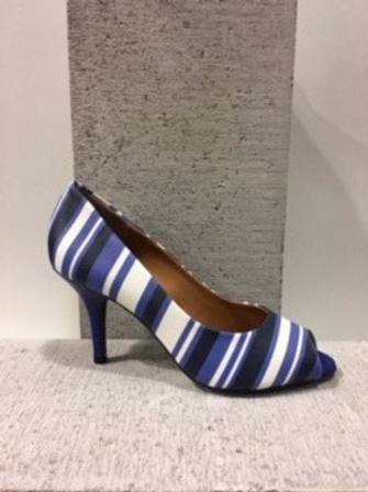 Sandale rayée bleue Only