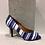 Thumbnail: Sandale rayée bleue Only