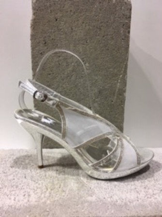 Sandale argentée brillantes NOBLEZ