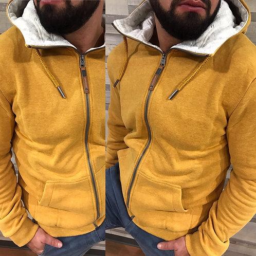 Veste jaune à capuche Ragwear