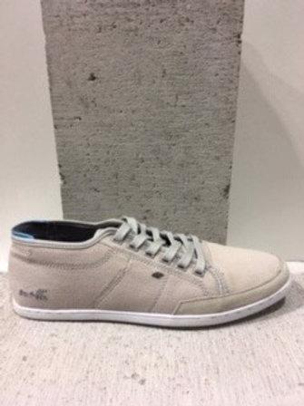 Chaussure grise pâle en tissu BOXFRESH