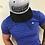 Thumbnail: Casquette homme grise brodée noir  Blend