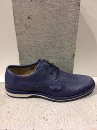 Chaussures bleue en cuir NOBRAND