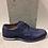 Thumbnail: Chaussures bleue en cuir NOBRAND