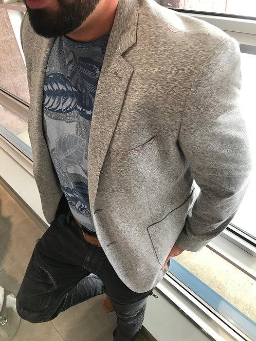 Veston gris style t-shirt Izac & Adam