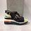 Thumbnail: Sandale semelle compensée avec lanières en brillants Laura Vita