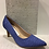 Thumbnail: Escarpin bleu style fripé Piccadilly