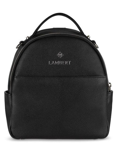 Mini sac à dos Charlie noir par Lambert
